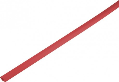 Shrink tube 2:1 1.5/0.6mm - red 1m