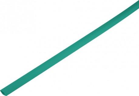Shrink tube 2:1 1.5/0.6mm - green 1m