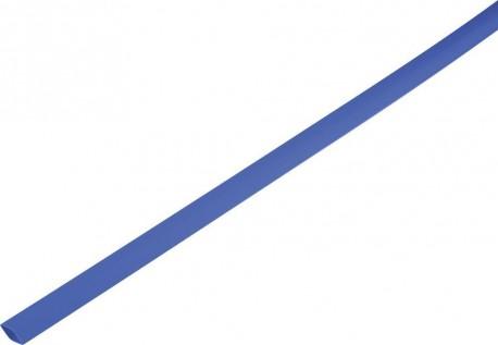 Shrink tube 2:1 1.5/0.6mm - bleu 1m