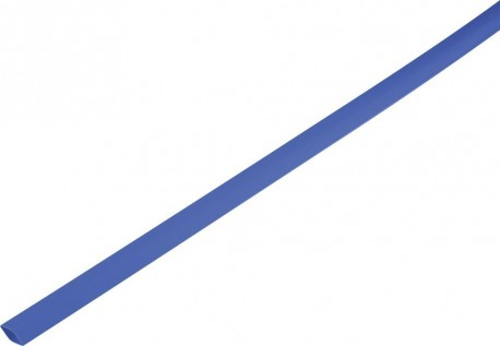 Shrink tube 2:1 6.5/3mm - bleu 1m