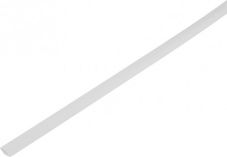 Shrink tube 2:1 6.5/3mm - white 1m