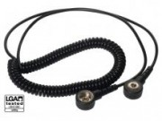 Coilcord 240cm with 4mm snap