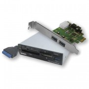 EMINENT USB 3.0 internal Card - Met de Eminent EM1078 Super Speed USB 3,0 combinatie razendsnel je bestanden overzetten,