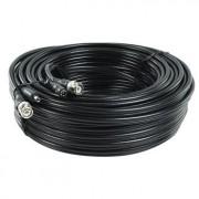 Security coax kabel RG59 + DC - Professionele coaxkabel met BNC connectoren en DC voedingspluggen voor het aansluiten van