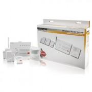Draadloos alarmsysteem - Dit verfijnde en eenvoudig te gebruiken draadloos alarmsysteem heeft een ingebouwde telefoonkiezer om