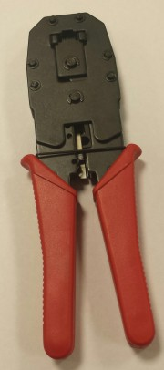 Wire Tool Modular for - 4 (RJ11) 6 (RJ12) 8 (RJ 45) mod conn