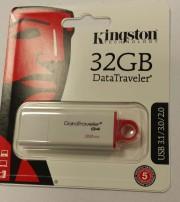 Kingston 32GB USB 3.1 G4 - DataTraveler