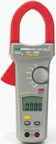 Clamp + Multimeter True RMS - 1000A AC ICM 133R