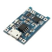 USB Lithim Battery Charger Module Board with charging and protection