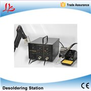 2 in 1 BGA Desoldering Station Electric Vacuum Desoldering Pump Solder Sucker Gun + Soldering Station