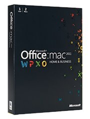 Microsoft Office voor MAC Thuisgebruik & Zelfstandigen 2011 1-MAC