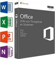 Microsoft Office voor MAC Thuisgebruik & Studenten 2016 1-Mac