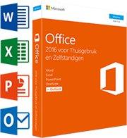 Microsoft Office Thuisgebruik & Zelfstandigen 2016 1-PC