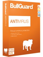 BullGuard AntiVirus 1-PC 2 jaar