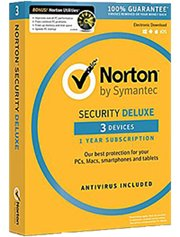 Norton Security Deluxe 3-Devices 1 jaar