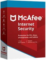 McAfee Internet Security 3-PC 1 jaar