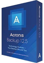 Acronis Backup 12.5 Standard for Workstation