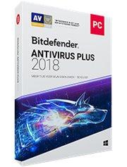 Bitdefender Antivirus Plus 3-PC 2 jaar