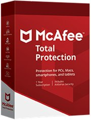 McAfee Total Protection 10-PC 1 jaar