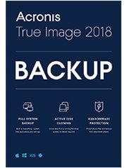 Acronis True Image 2018 Advanced 3-PC/MAC + 250 GB Cloud Storage 1 jaar
