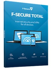 F-Secure Total Security & Privacy 3-Devices 1 year