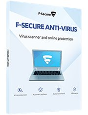 F-Secure Anti-Virus 3-PC 1 year