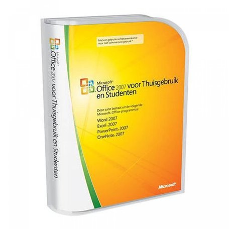 Microsoft Office 2007 Home and Student (NL Retail)