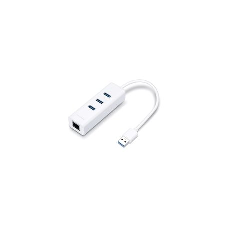 TP-LINK USB 3.0 3-port HUB and Gigabit Ethernet Adapter
