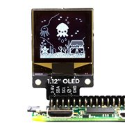 "1.12"" Mono OLED (128x128, white/black) Breakout  for Raspberry"